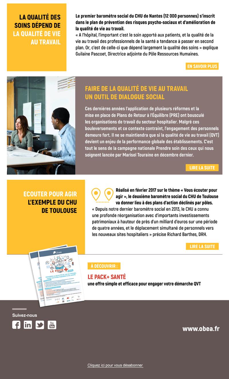 Newsletter Santé - Octobre 2017