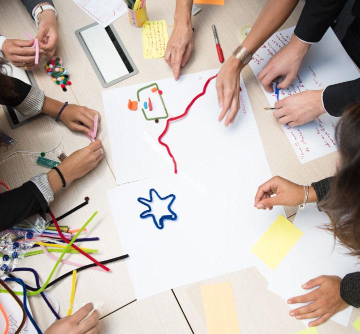 Présentation d'un atelier de co-conception