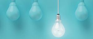 Image d'une ampoule allumée
